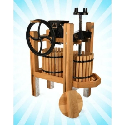 American Harvester Double Tub Cider Press & Grinder