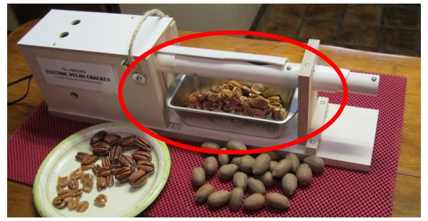 Details about Automatic Electric Pecan Cracker/Nut Sheller